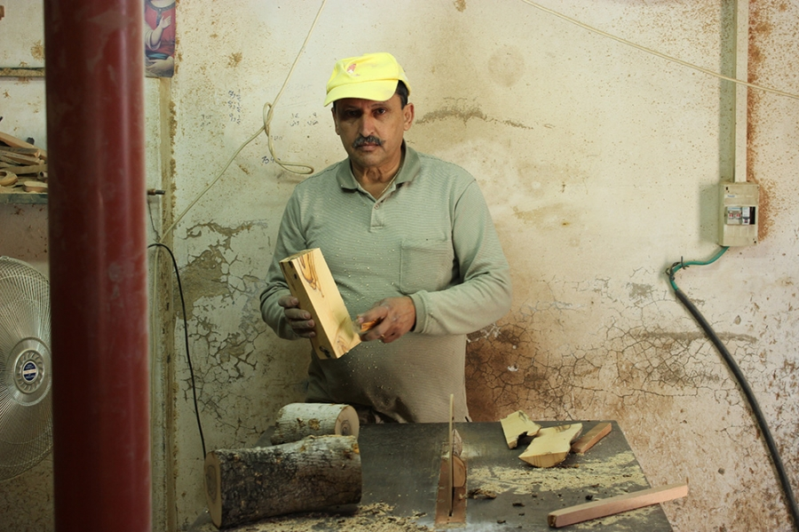 Holy Land Handicraft Cooperative Society - Chairman Majed Odeh